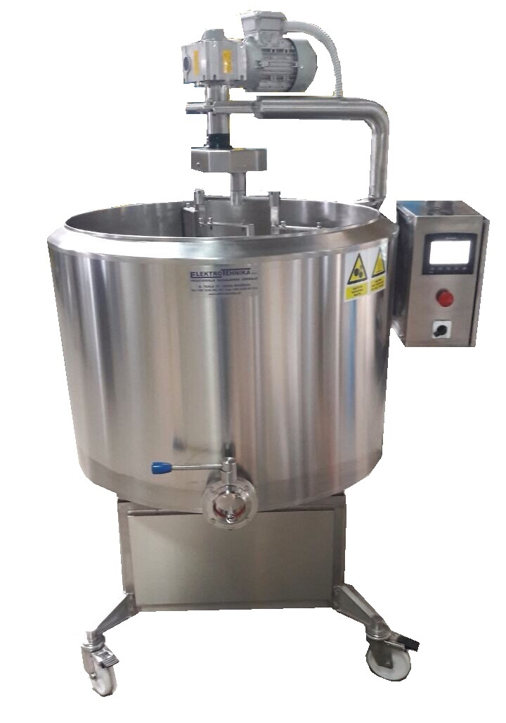 Milk processing and cheese production