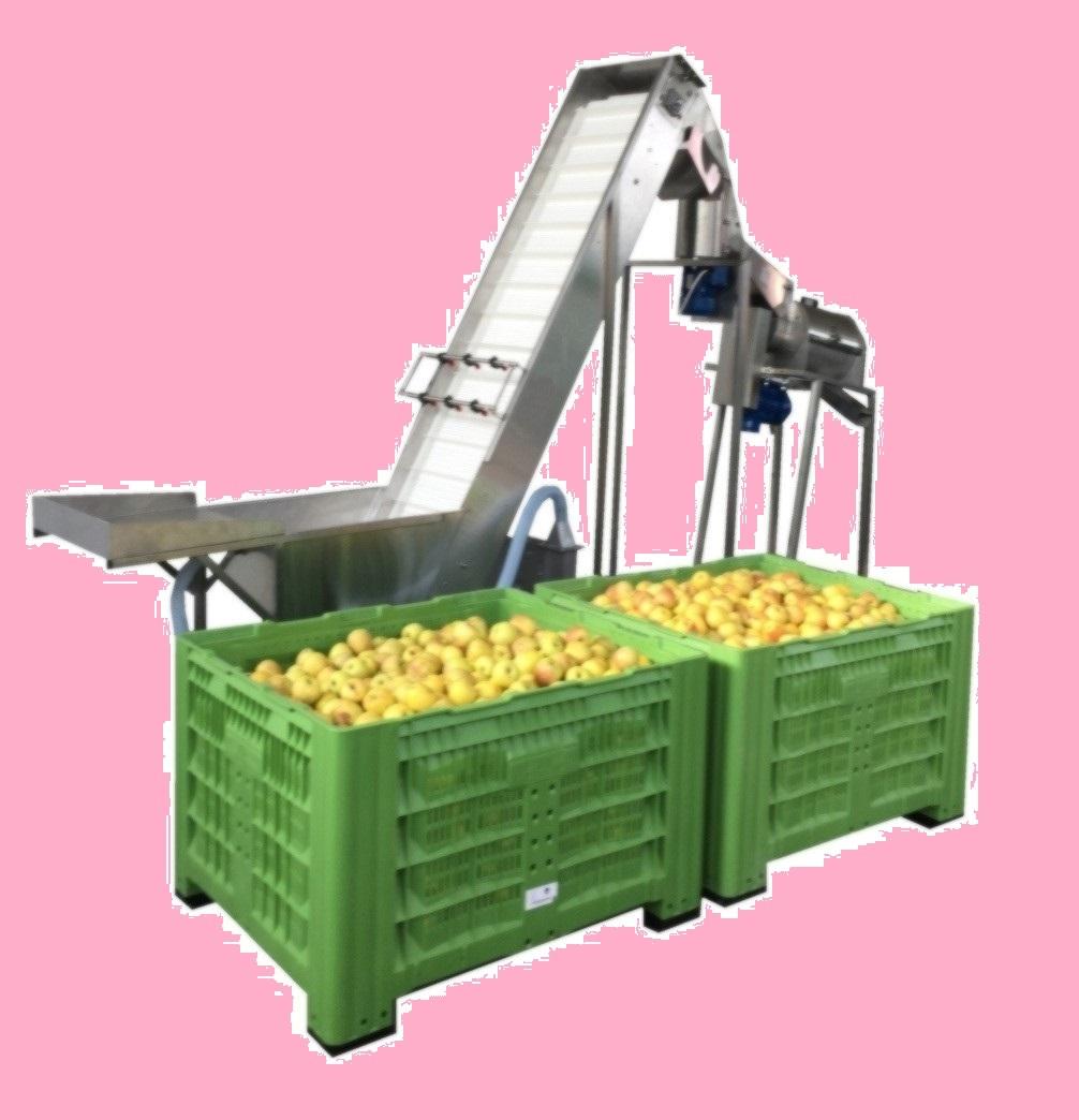 Strojevi za pranje i transport voća i povrća